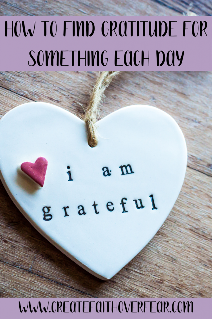 How To Find Gratitude For Something Each Day