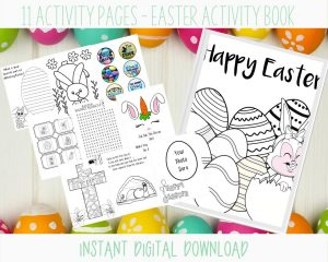 Printable Easter Activity Book For Kids